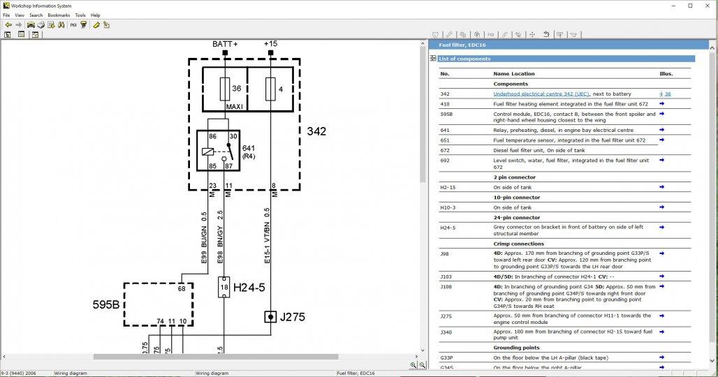 Wiring Diagram Saab 9 3 Tdi 150 Fault Code P 1180 04 Saabscene Saab Forum Saab Technical Information Resource